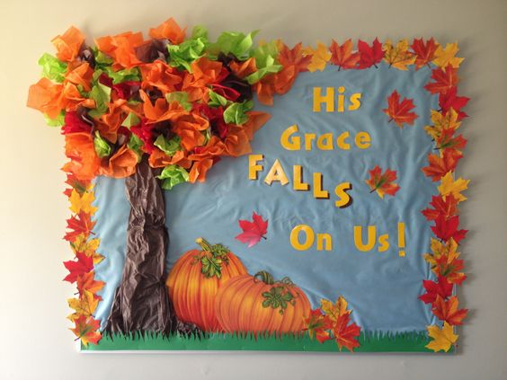 Fall Bulletin Board Ideas