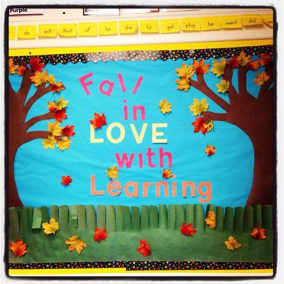 Fall Bulletin Board Ideas