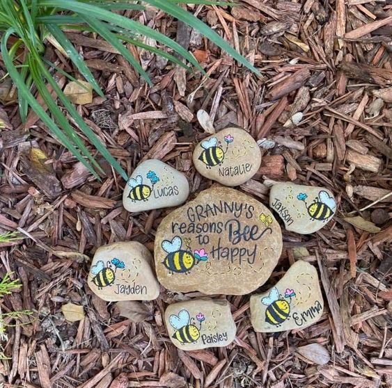 Mothers Day Painted Rocks