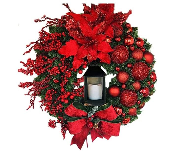 Christmas Wreath Ideas to get your door festive ready
