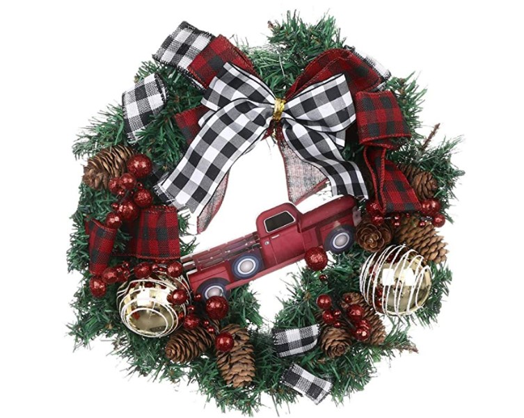 Christmas Wreath Ideas to get your door festive ready!