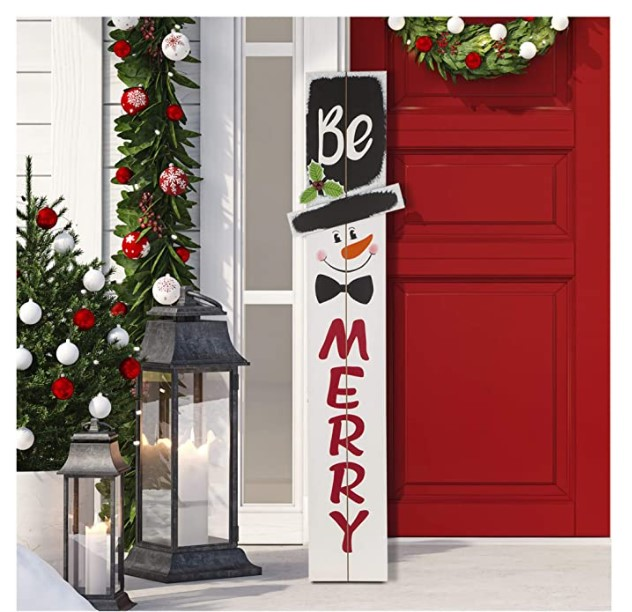 Outdoor Christmas Decorations to transform your yard into a Winter Wonderland!